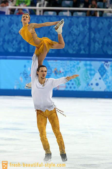 az olimpiai jégtáncosok randevúzása